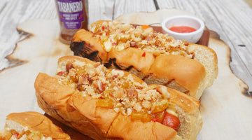 Hawaiian Style Hot Dogs (Agave Sweet & Spicy Flavor)