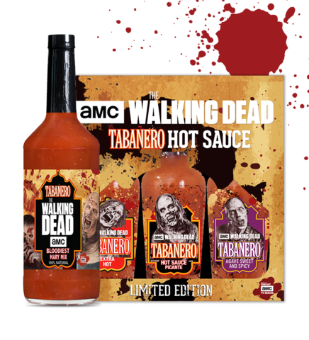 The Walking Dead Tabañero Hot Sauce and Bloody Mary Mix Pack