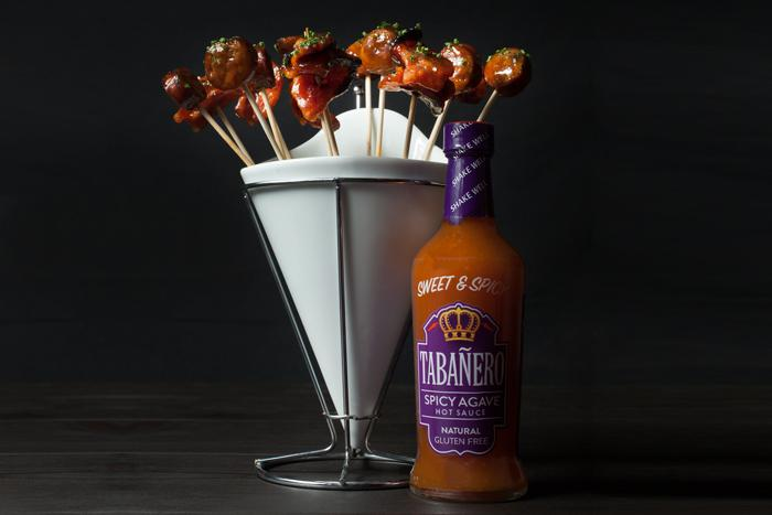 Tabanero Agave Sweet & Spicy Smoked Meat Lollipops  recipe - Tabanero