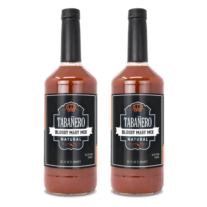 Bloody Mary Mix, 32oz. (2 Pack) - Free Shipping Bottle - Tabanero