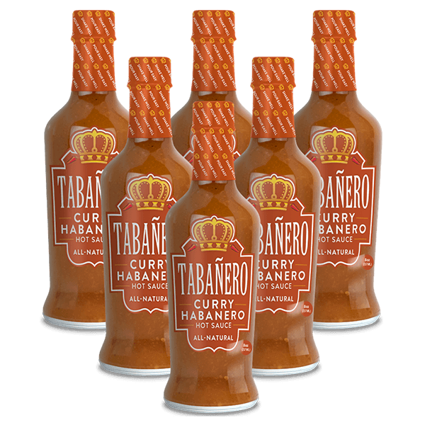 Curry Habanero, 8oz. (6 Pack) - Tabañero