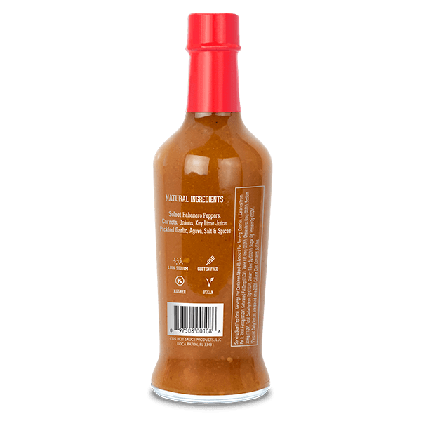 Extra-Hot, 8oz. (12 Pack) - Free Shipping Bottle - Tabanero
