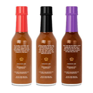Hot Sauce Fiesta Kit, 5oz. (3 pack) Bottle - Tabanero