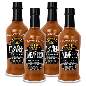 Original, 8oz. (4 Pack) - Free Shipping Bottle - Tabanero