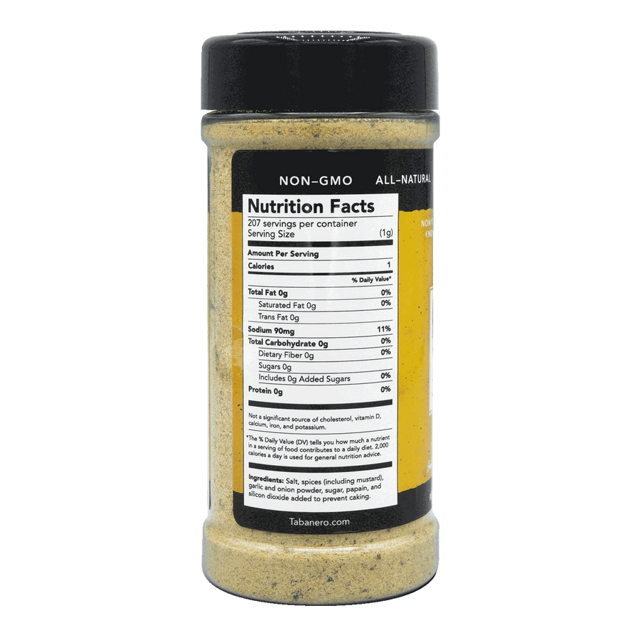 "All-Purpose ""Anytime"" Seasoning, 7.3 oz. Spice Blend - Tabanero"