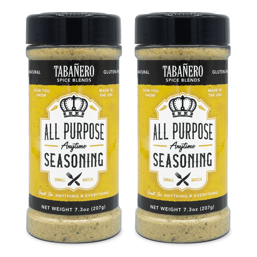 "All-Purpose ""Anytime"" Seasoning, 7.3 oz. (2 Pack) Spice Blend - Tabanero"