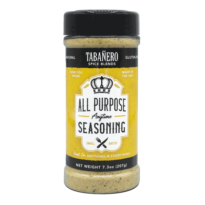 "All-Purpose ""Anytime"" Seasoning, 7.3 oz. - Tabanero"
