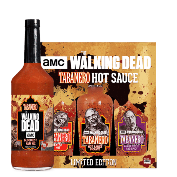 AMC The Walking Dead Bloodiest Mary Mix & Hot Sauce Combo Pack
