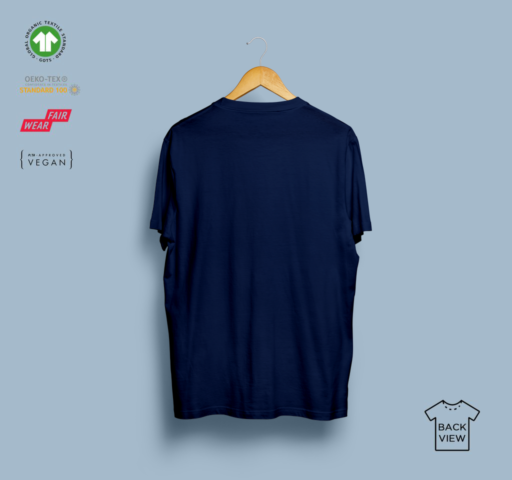 T-shirt - Eco-Games - Navy - Heart