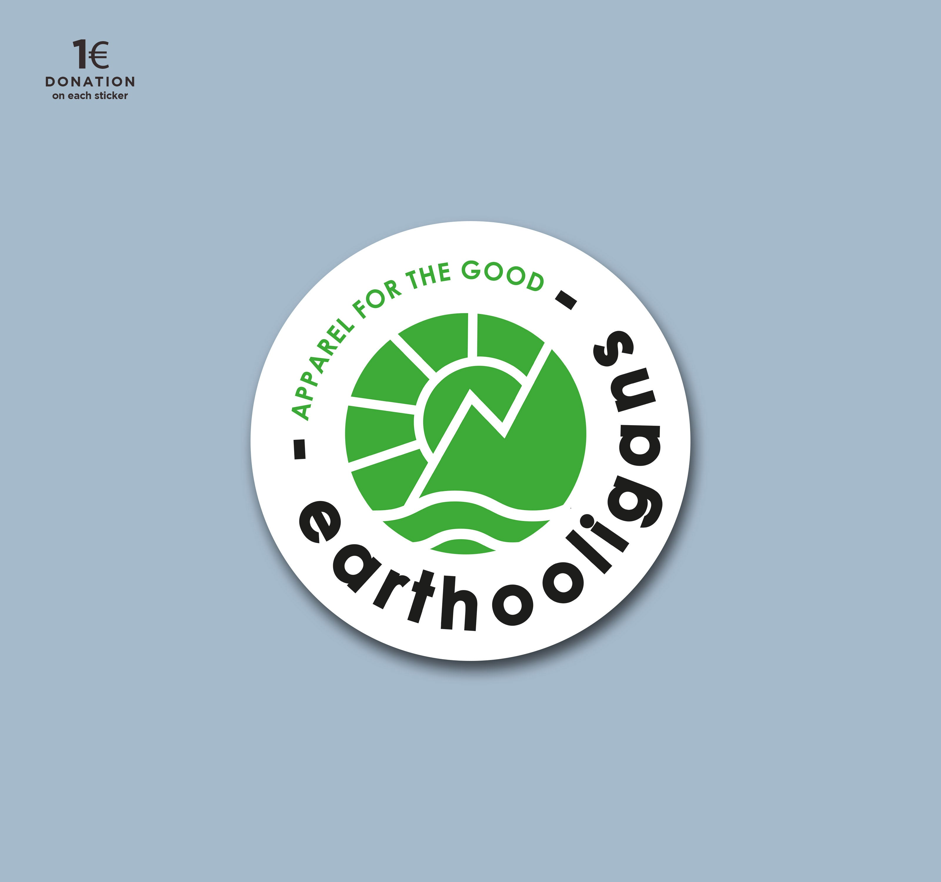 Sticker de marque eco friendly pour les associations