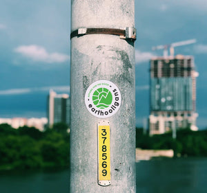 Sticker Earthooligans eco responsable