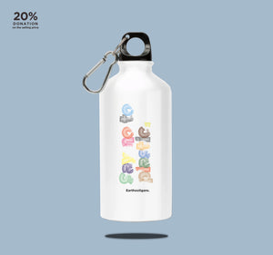 Aluminium bottle - Say no to plastic