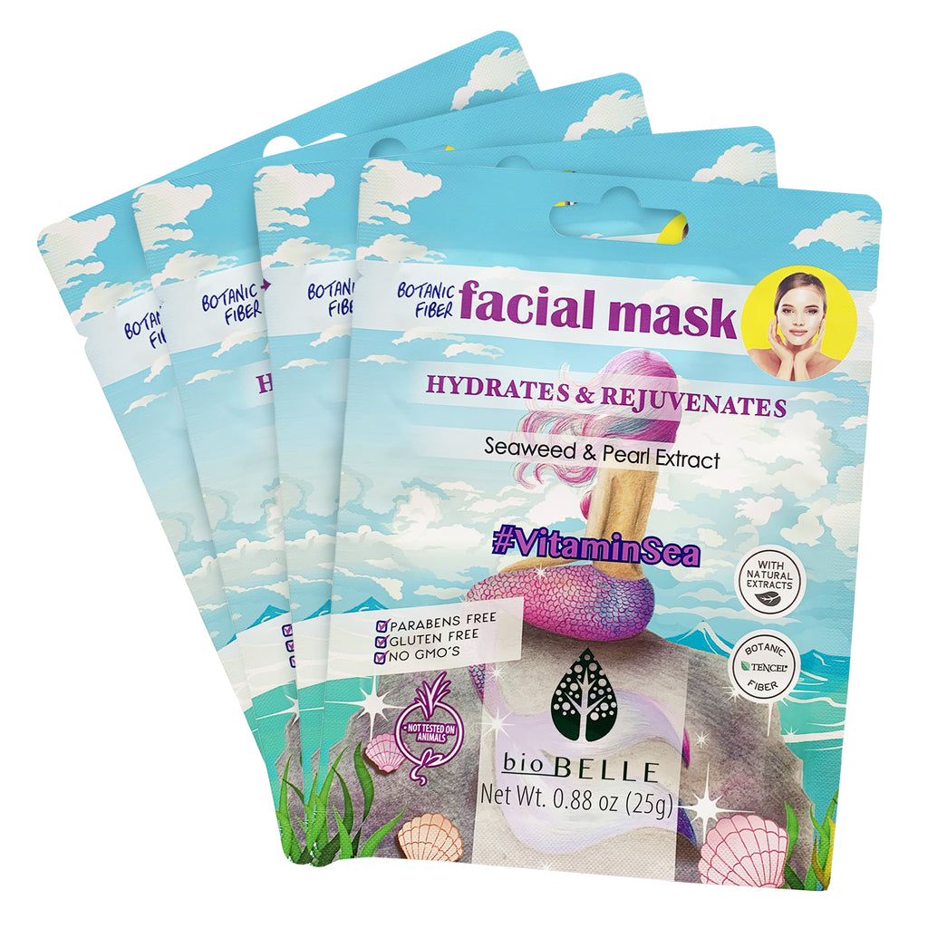 Hydrating Set - 4 #VitaminSea Sheet Masks