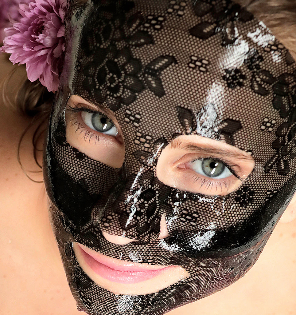 #GLAM Black Tea & Glycolic Acid Mask