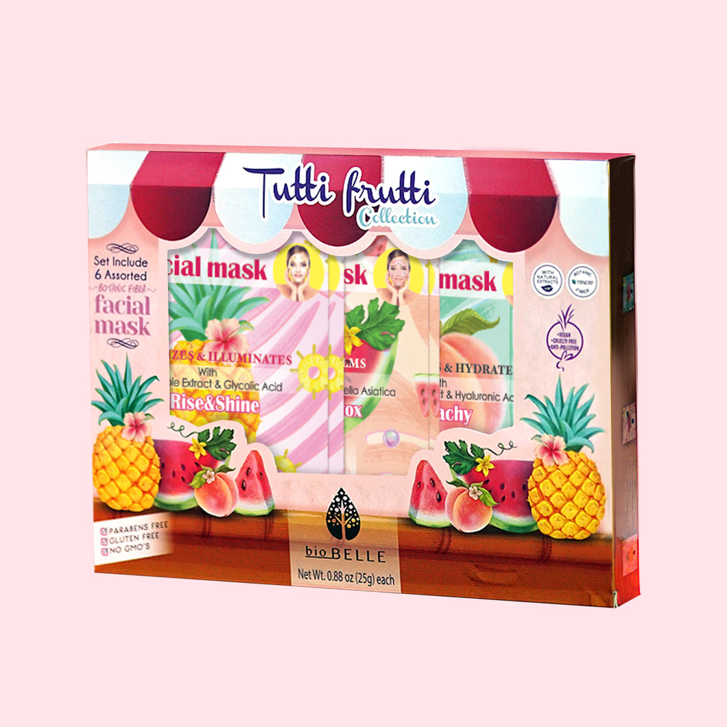 Tutty Fruity Collection 6-Mask Set