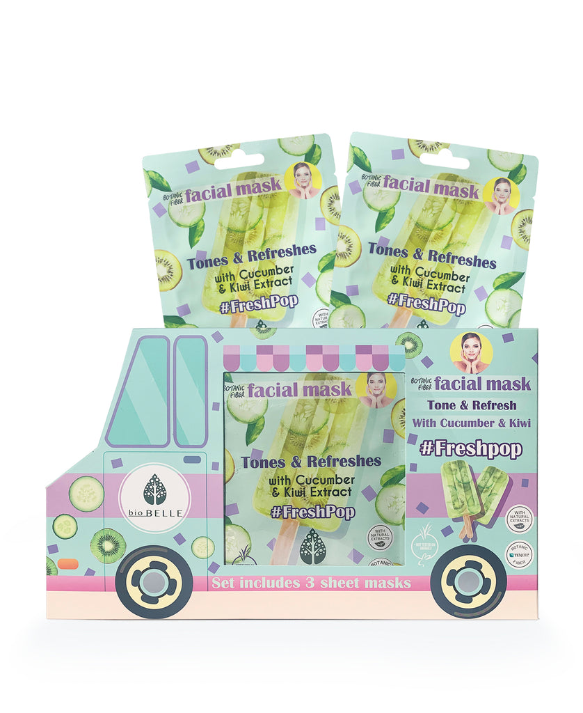 FreshPop Truck 3 Masks Set