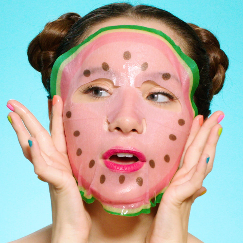 #INSTANTDETOX Watermelon & CICA Mask