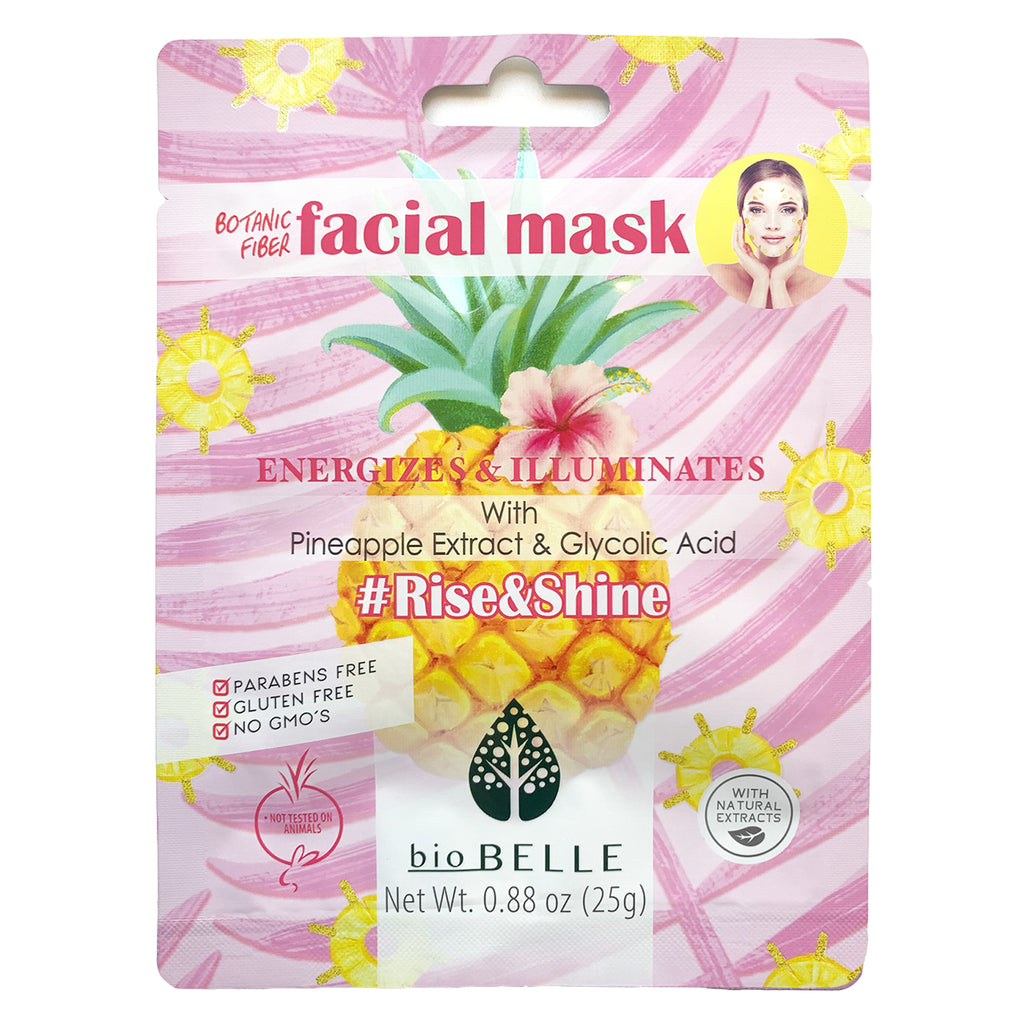 #RISE&SHINE Pineapple & Glycolic Acid Mask