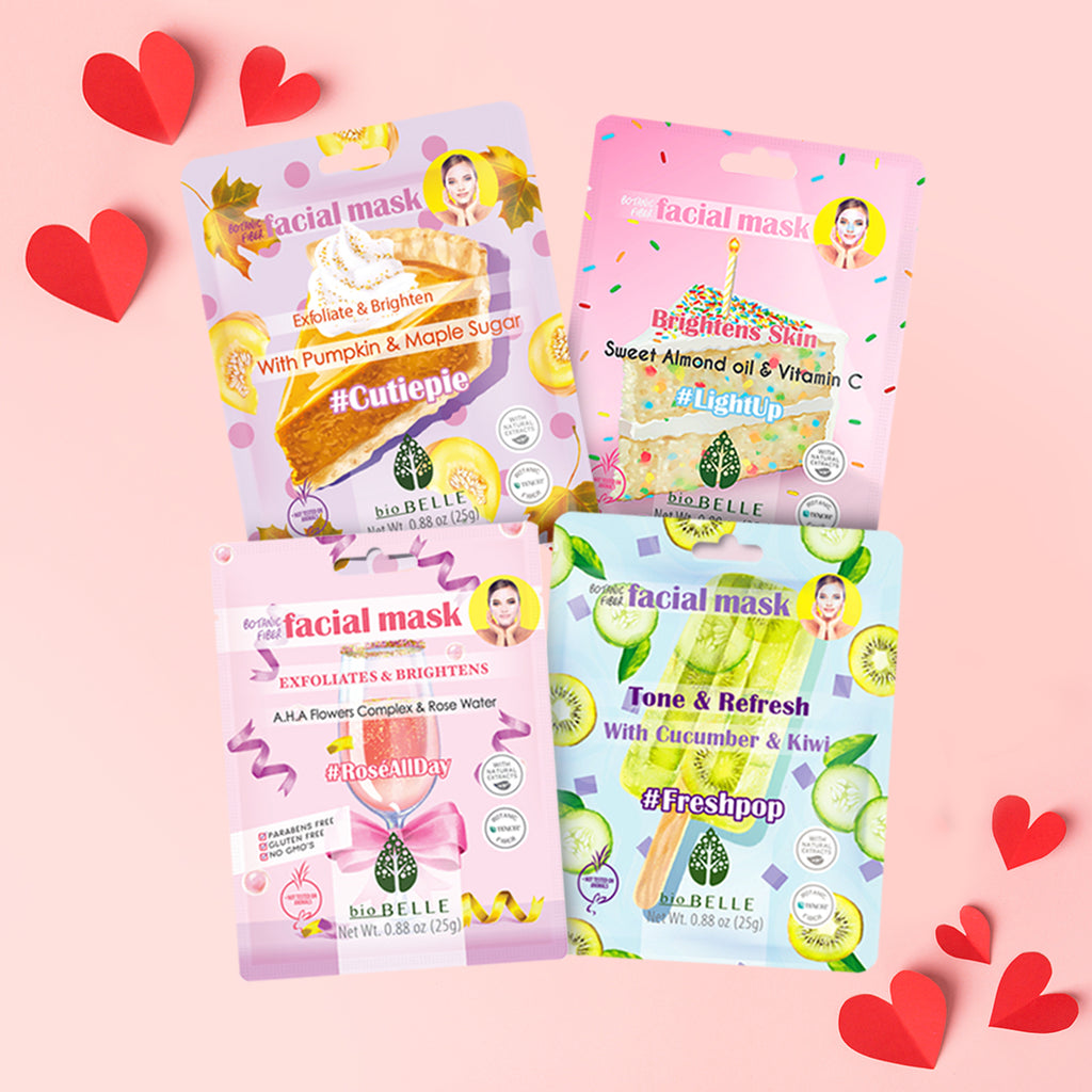 Winter Skin Savior Set - 4 assorted sheet masks