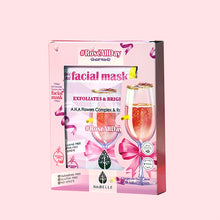 Load image into Gallery viewer, #ROSEALLDAY Rose Water & AHAs 3-mask set