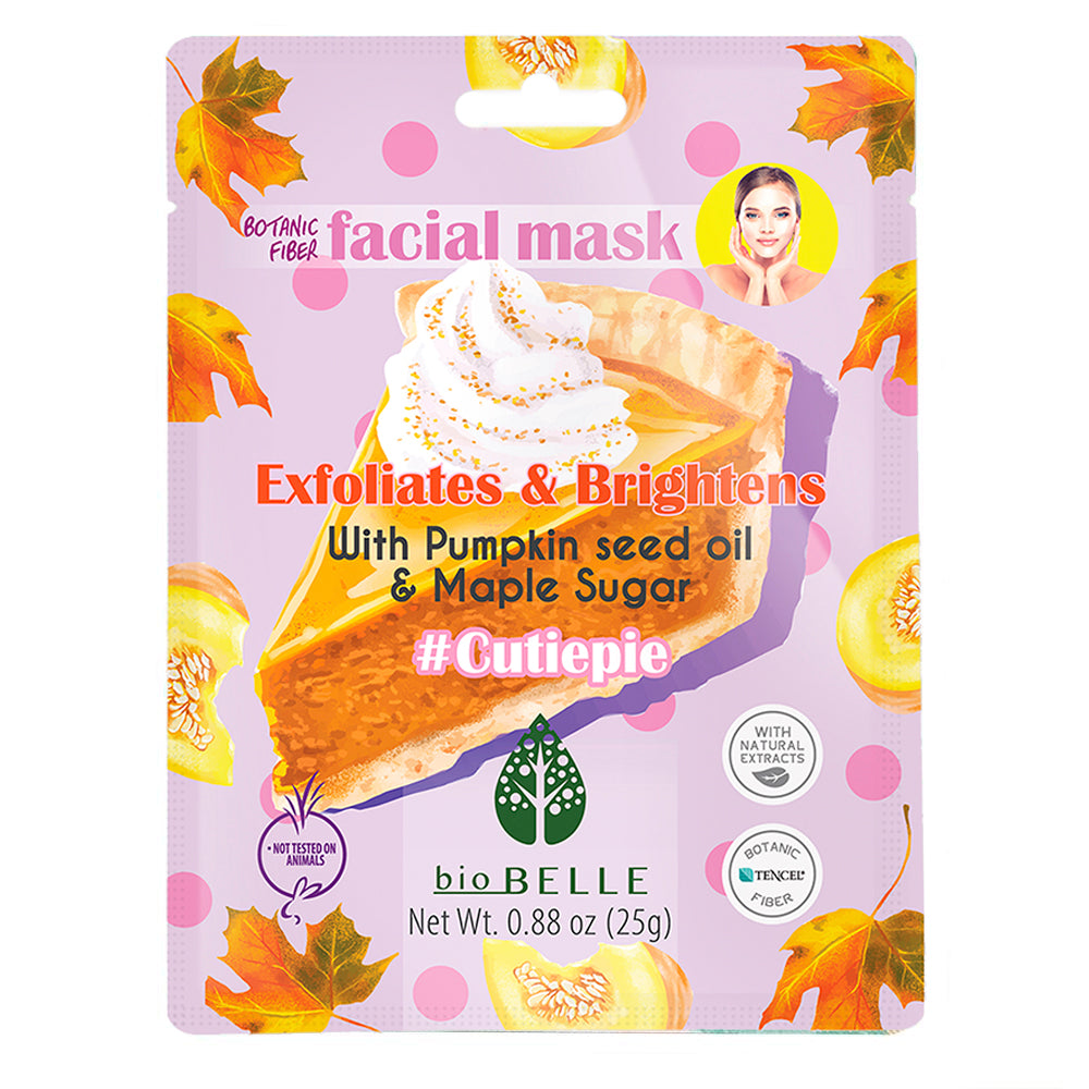 #CutiePie Pumpkin Seed Oil & Sugar Maple Extract Mask