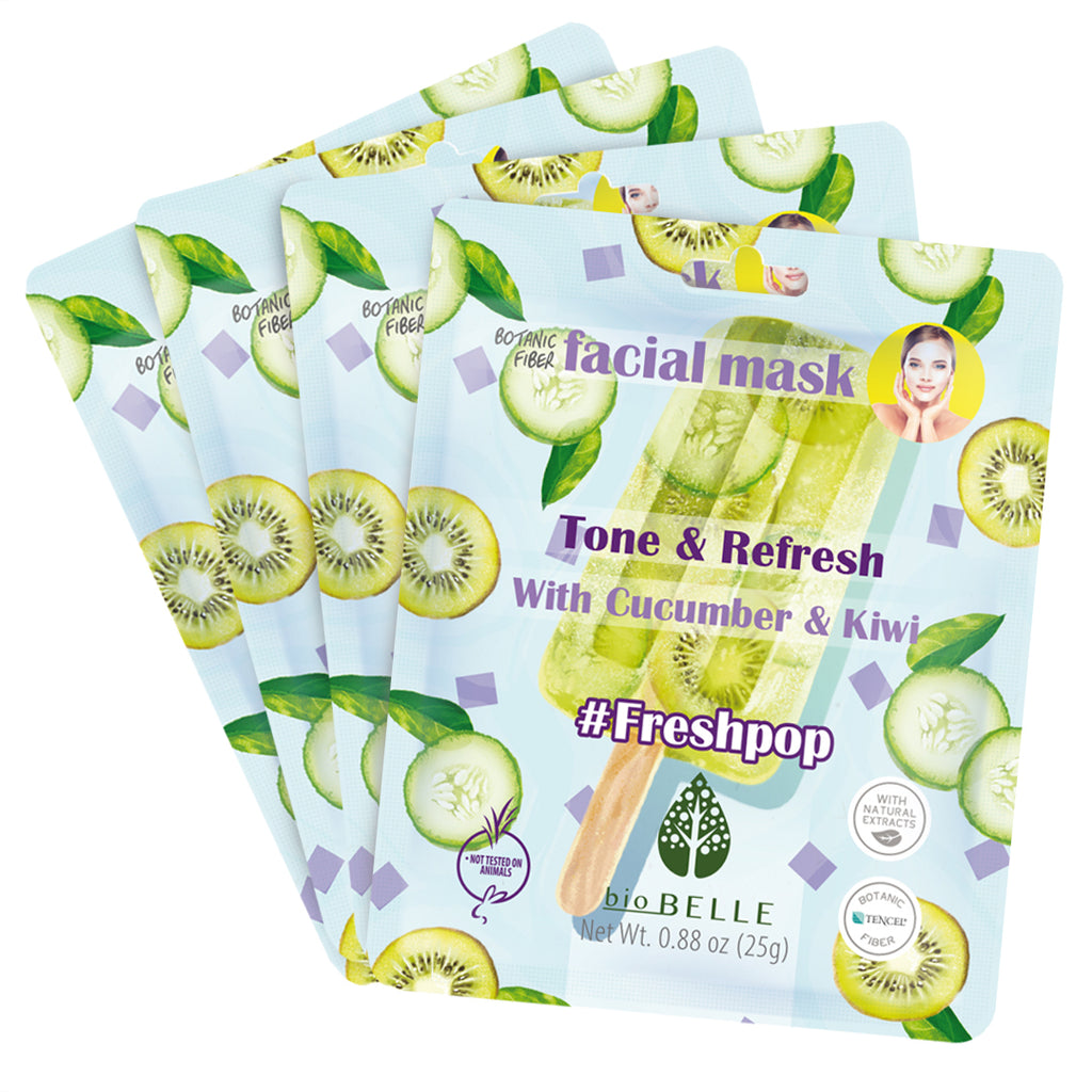 Unwind & Relax #FreshPop Set of 4 Mask