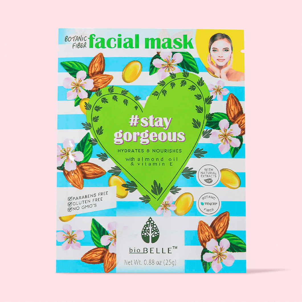 #STAYGORGEOUS Almond oil & Vitamin E Mask