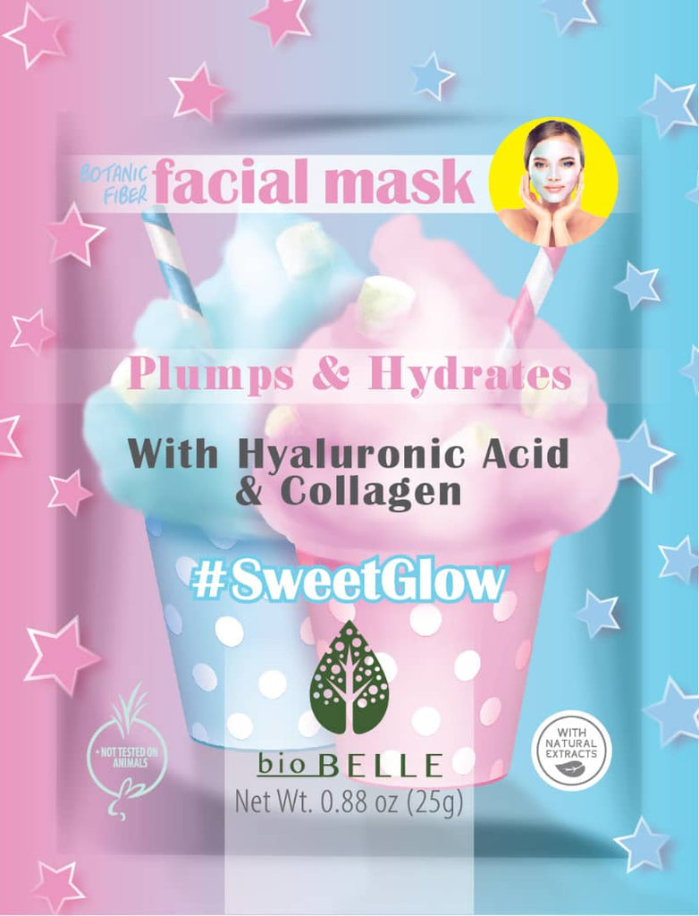#SweetGlow Mask with Hyaluronic Acid & Collagen