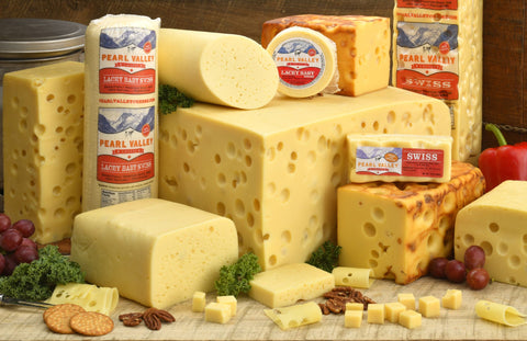 Swiss Cheese Varieties