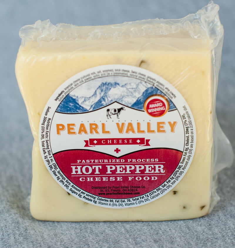 Jalapeno Hot Pepper Cheese