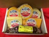 Party Cheese Gift Box - cheese and Summer Sausage