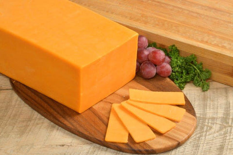 Sharp Colored Cheddar Cheese