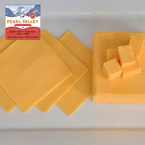 Pearl Valley American Cheese Sliced made in Ohio's Amish Country