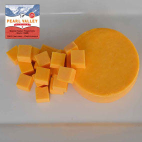 Colby Cheese made by Pearl Valley Cheese House in Fresno, Ohio