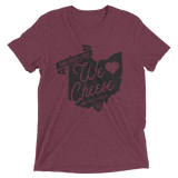 We Love Cheese Short sleeve t-shirt