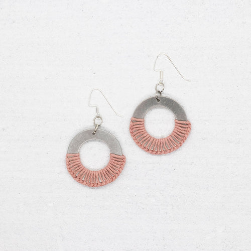Grace Earrings - Pink