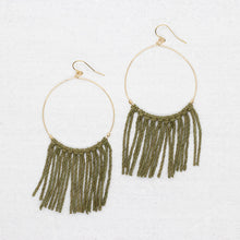 Load image into Gallery viewer, Hope Earring - Olive