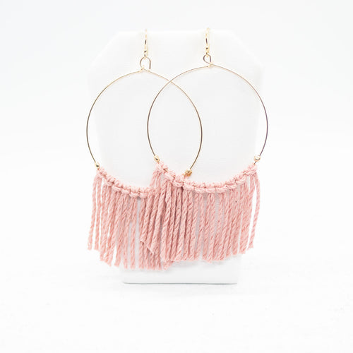 Hope Earrings - Pink