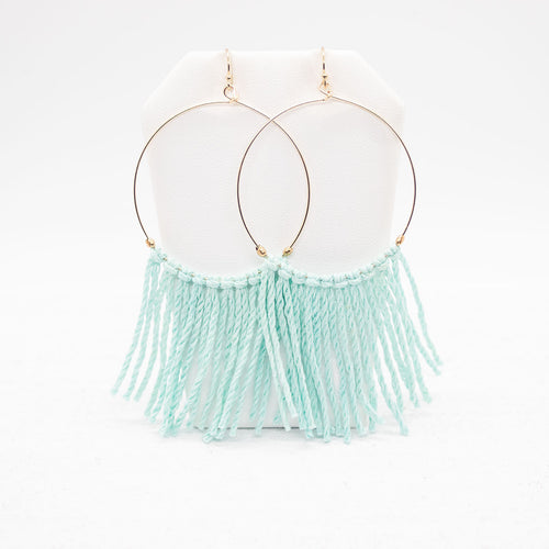 Hope Earrings - Seafoam