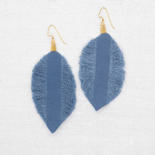Refuge Earrings - Blue