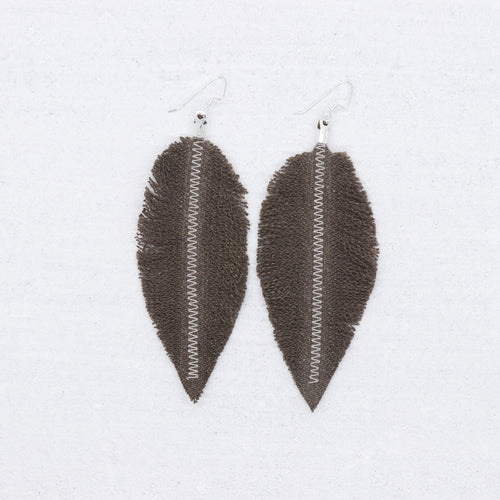 Refuge Earrings - Brown