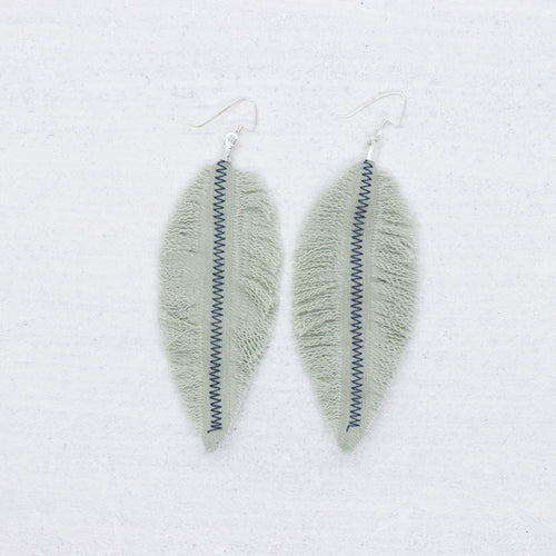 Refuge Earrings - Sage