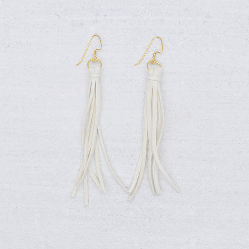 Tribe Earrings - White
