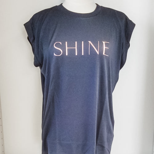 Shine Sleeveless Shirt