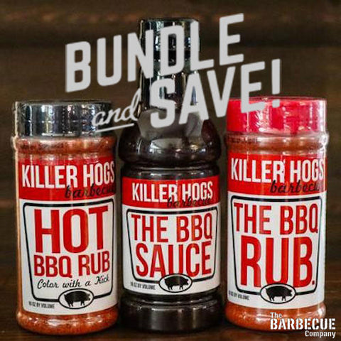 Bundle & Save with Killer Hogs Barbecue