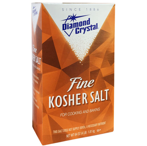 Diamond Crystal Fine Kosher Salt 1.81kg - The Barbecue Company