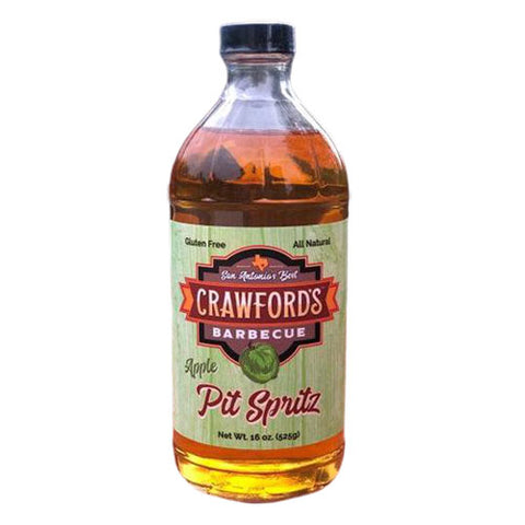 Crawfords BBQ Apple Pit Spritz 525g
