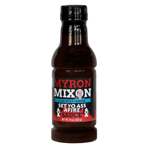 Myron Mixon Set Yo Ass Afire Sauce 453g - The Barbecue Company