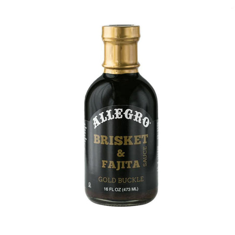 Allegro Brisket & Fajita Sauce 473ml - The Barbecue Company