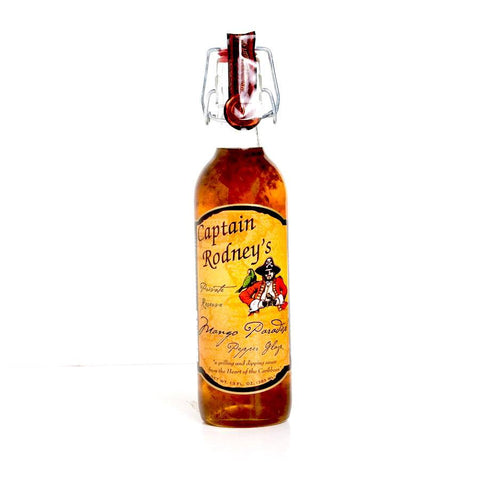 Captain Rodneys Private Reserve Mango Pepper Glaze 385ml - The Barbecue Company